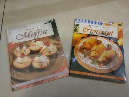 Langsung dpt dua: Muffin dan Croissant