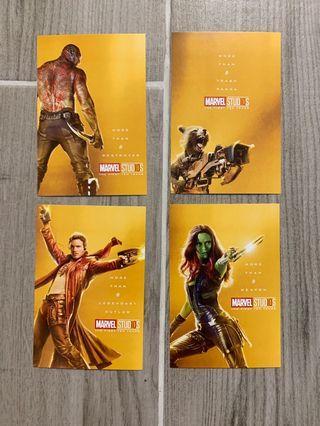 Marvel postcard set