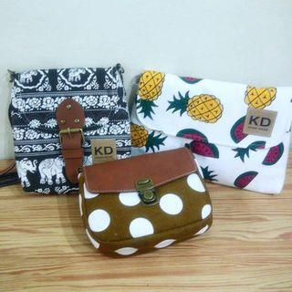 Sling Bags Pineapple design