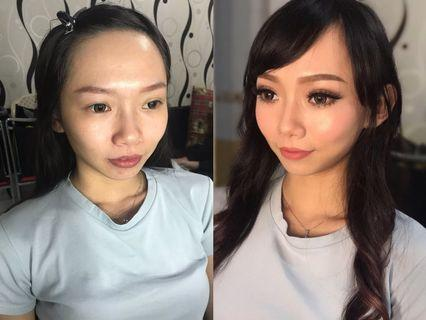 Makeup (bridal, photoshoot , dinner ,etc)