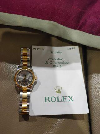 Authentic Rolex Watch - 26mm (model 179163)