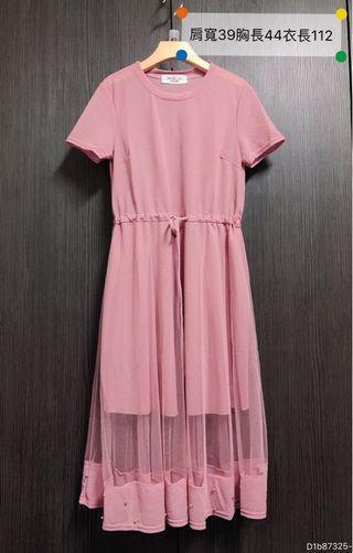 🚚 正韓🇰🇷仙女棉拼紗洋裝