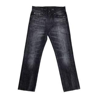 Uniqlo S002 Reguler Fit Straight in Dark Gray Washed