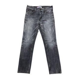 Levis 511 Slim Straight Fit Midd Gray Washed