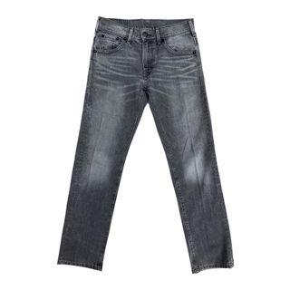 Levis 513 Slim Fit Tapered Straight in Gray Spray On Wash