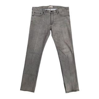 Uniqlo Slim Fit Tapered Straigh in Light Gray