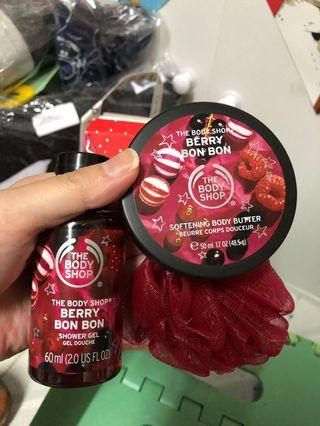 body shop shower gel 沖涼液 butter