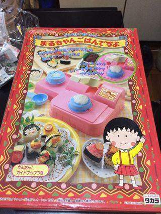 小丸子 飯團機 玩具