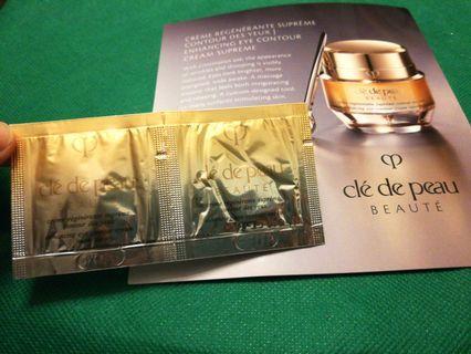 Cle De Peau CONTOUR DES YEUX Eye cream 0.1ml 高效煥活眼霜