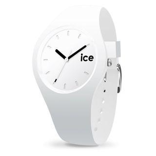 Authentic White Silicone Ice Watch