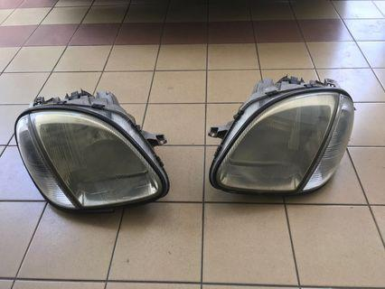 Mercedes SLK200/230 R170 Headlamps