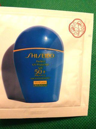 Shisedo Perfect UV Protector 資生堂全天候抗禦防曬乳液 SPF50+ PA++++