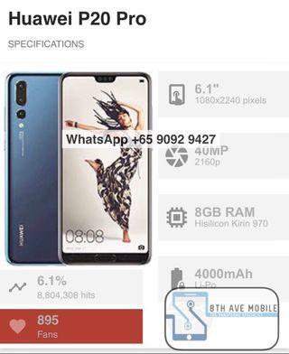 WTS Like New Huawei P20 Pro