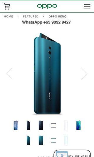 WTS Brand New Oppo Reno 256GB LTE