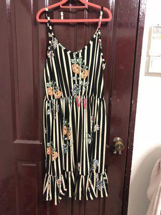 BN Striped Summer Dress UK18 UK20