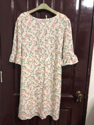 BN Floral Dress UK18 UK20