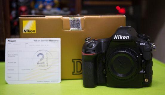 I'm Selling Practically Bnew Nikon D850 ThinkDharma unit 2 years warranty.