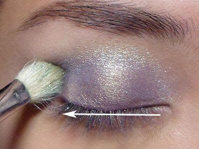 MAC Idol Eyes silver eye shadow