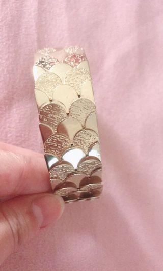 全新鍍金不掉色閃亮✨可挑式手環