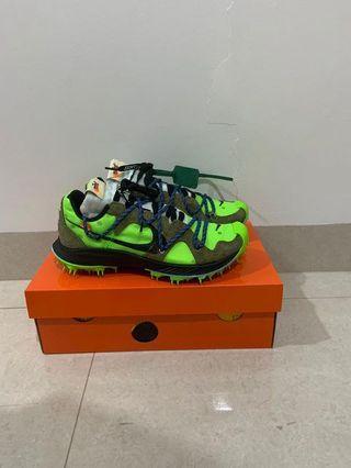 Nike off white terra kiger green