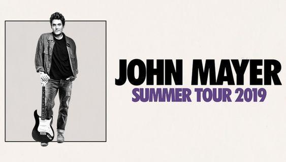 John Mayer Concert July 30th Floor Tickets