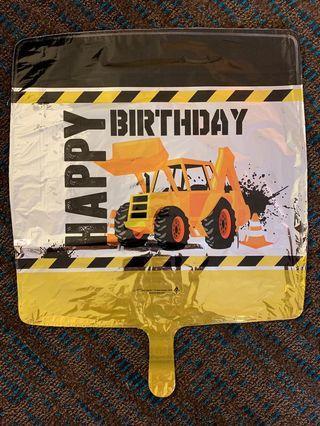 America balloon: Happy Birthday Tractor balloon