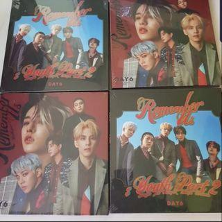 $0.50-3.50 MAILED SALE WTS DAY 6 REMEMBER US: YOUTH PART 2 ALBUM