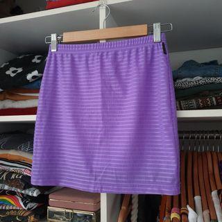 Billabong stretchy purple skirt
