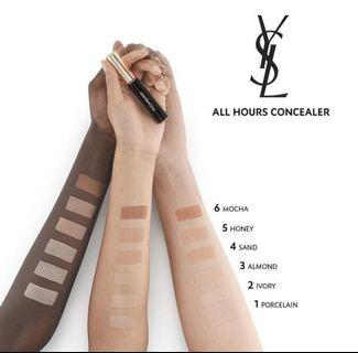 ysl all hours concealer original