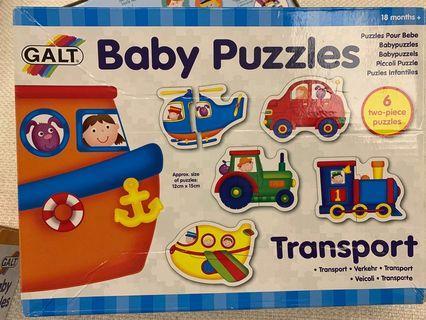 Galt baby puzzles