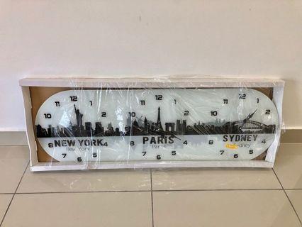 Clock (New York, Paris, Sydney)
