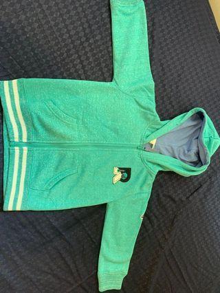 🚚 Pumpkin patch 12-18 months green hoodie brand new