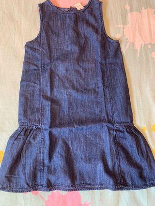 Baby GAP 5 years old toddler denim dress