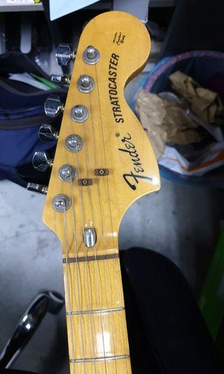 Fender stratocaster made in Japan ST72
