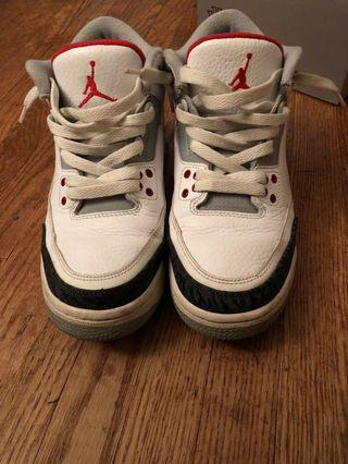 FIRE RED 3S SIZE 6Y