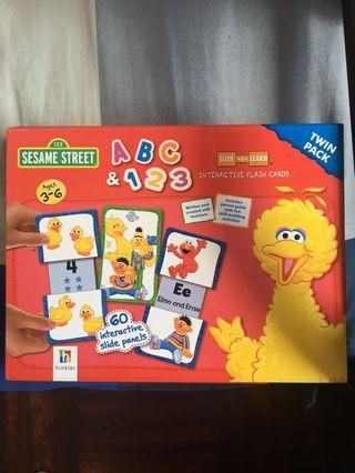 Sesame Street Flash Cards (Twin pack)