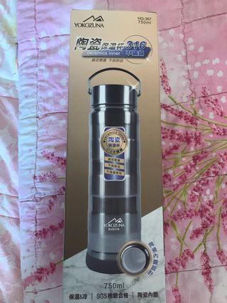 🚚 陶瓷保溫瓶316不鏽鋼750ml