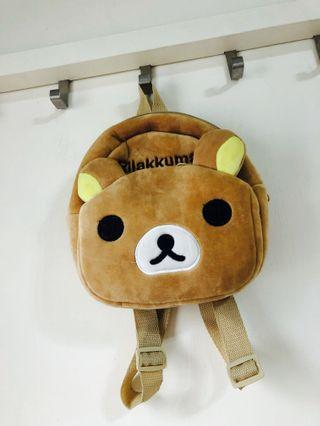 Rilakkuma 拉拉熊兒童背包🎒
