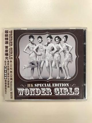 Wonder Girls CD + DVD K-pop Nobody 香港版