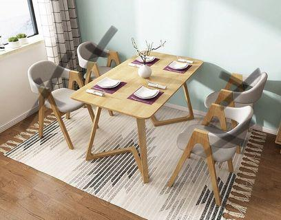 New Wooden Dining Table