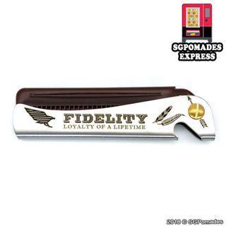 Fidelity Neodymium Flip Comb - SG Pomades Mens Grooming