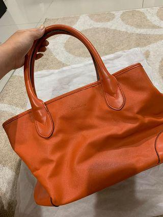 Key collection orange bag