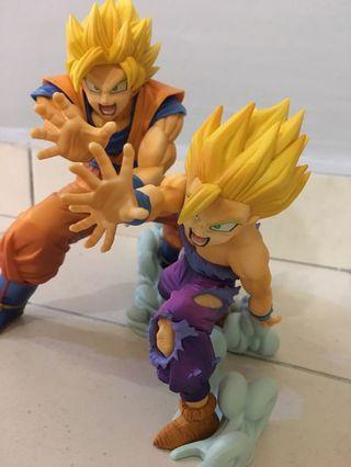 Banpresto DBZ VS existence Goku & Gohan figure