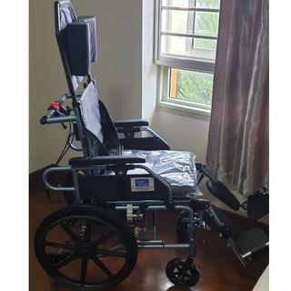 "Lifeline – 18"" Reclining Lightweight Detachable Wheelchair"