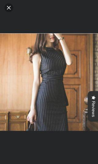 OL Stripe Dress