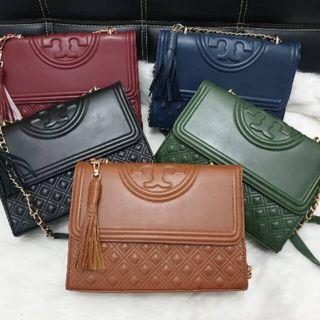 Premium Tory Burch Fleming Medium 27 GHW / Tas TB Murah