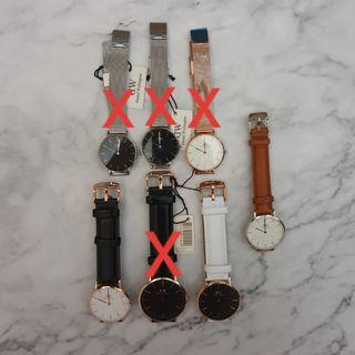 🔥 CLEARANCE Authentic Daniel Wellington Watches