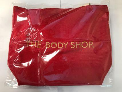 🚚 The body shop fabric mini tote bag