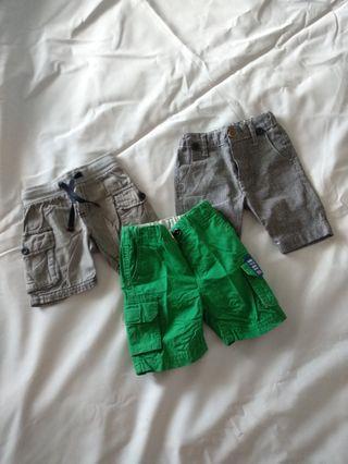 Celana anak boy short pants