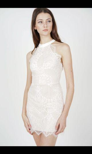 🚚 Mds Friesha lace dress in white